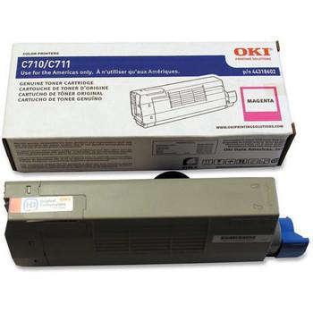 Genuine OKI Brand C710, C711 44250710 Toner Cartridge Magenta
