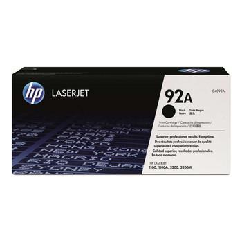 Genuine HP Brand 92A C4092A Black Toner Cartridge