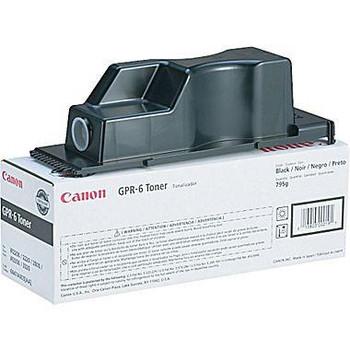 Genuine Canon Brand GPR-6 6647A003AA Black Toner