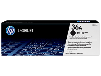 Genuine HP Brand 36A CB436A Black Toner Cartridge