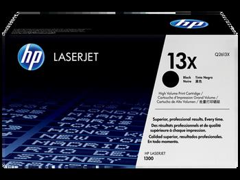 Genuine HP Brand 13X Q2613X Black High Yield Toner Cartridge