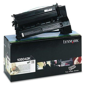 Genuine Lexmark Brand 10B042K C750 Black High Yield Toner