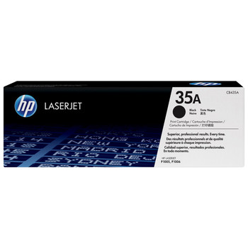 Original HP 35A CB435A Black Toner Cartridge