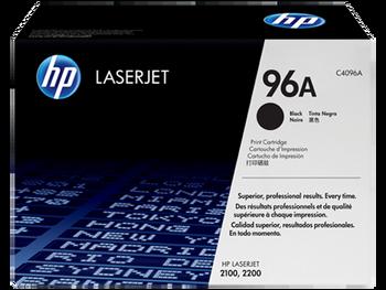 Genuine HP Brand 96A C4096A Black Toner Cartridge