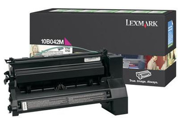 Genuine Lexmark Brand 10B042M C750 Magenta Prebate High Yield