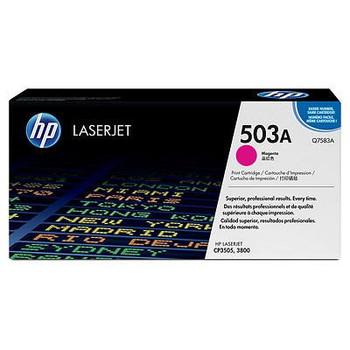 Genuine HP Brand 503A Q7583A Magenta Toner Cartridge