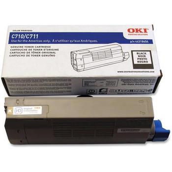 Genuine OKI Brand C710, C711 44318604 Toner Cartridge Black