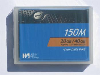 Dell DDS-4 150 Meter Tape Cartridge - DDS-4 - 20 GB / 40 GB - 09W083