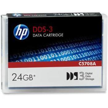 HP DAT DDS-3 Data Cartridge - DDS-3 - 12 GB / 24 GB - C5708A