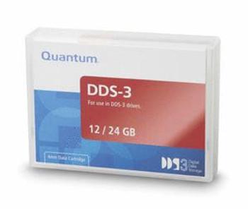 Quantum DDS-3 12GB/24GB 125 Meter Data Tape Cartridge - MR-D3MQN-01