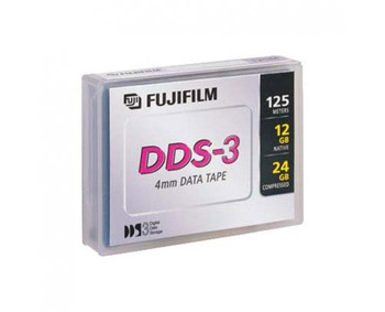 Fuji 4mm DDS-3 125M 12GB/24GB Data Tape Cartridge - 26047300