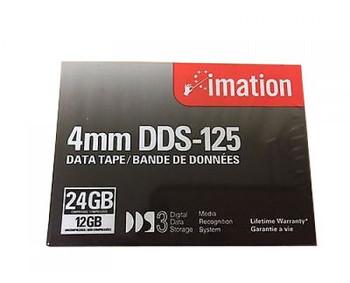 Imation 4mm DDS-3 125M 12GB/24GB Data Tape Cartridge - 11737