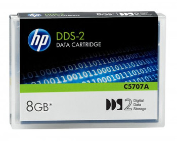 HP DDS-2 Data Cartridge -  4 GB / 8 GB - C5707A