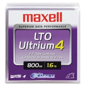 Maxell LTO Ultrium 4 Tape Cartridge - LTO-4 - 800 GB / 1.60 TB - 183906