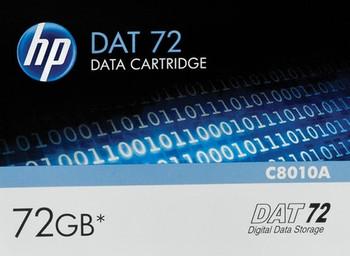 HP DAT72 DDS-5 Data Cartridge - 36 GB / 72 GB - C8010A