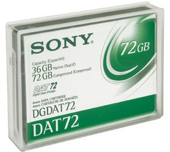 Sony DDS-5 DAT72 Backup Tape Cartridge  - DGDAT72