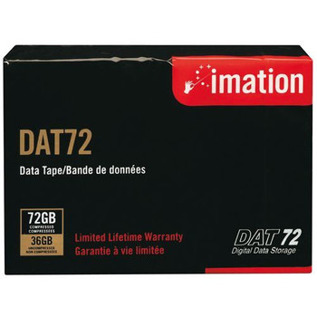Imation DAT72 Tape (4mm 170m) 36/72GB Data Cartridge - 17204