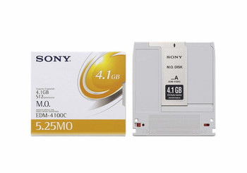 Sony EDM-4100C 4.1GB 8X 5.25 Magneto Optical Rewriteable 512 Bytes/Sector (EDM-4100C)