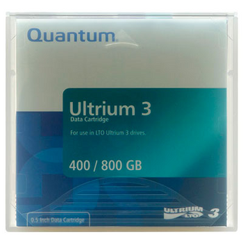 Quantum LTO-3 400GB / 800GB Ultrium Data Cartridge - MR-L3MQN-01