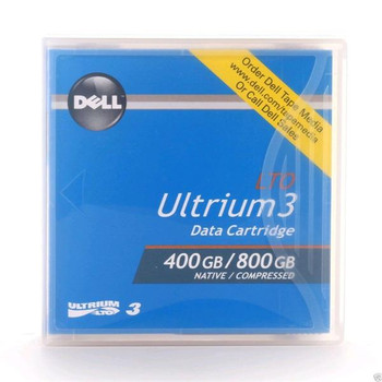 DELL 0HC591 Ultrium LTO-3 Data Cartridge Backup Tape 400GB/800GB