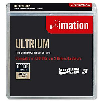 Imation LTO 3 Tape Ultrium 3 400GB/800GB Data Cartridge - 17532