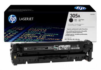 Genuine HP Brand 305A CE410A Black LaserJet Toner Cartridge
