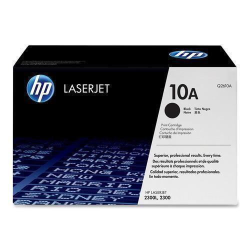 Genuine HP Brand 10A Q2610A Black Toner Cartridge