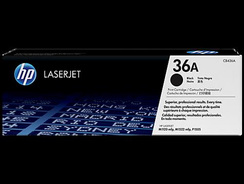 Genuine HP Brand 36A CB436A Black Toner Cartridge