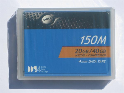 Dell DDS-4 150 Meter Tape Cartridge - DDS-4 - 20 GB / 40 GB - 09W083