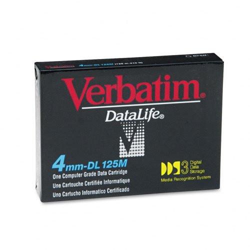 Verbatim 4mm DDS-3 125M 12/24GB - 91688