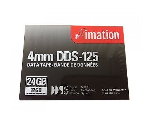 Imation 4mm DDS-3 125M 12GB/24GB Data Tape Cartridge - 11737