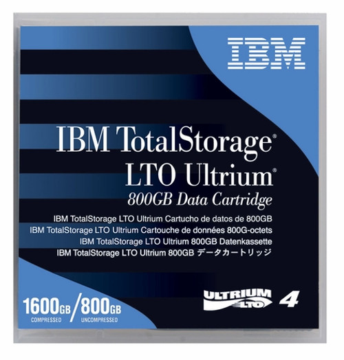 IBM LTO-4 95P4436 Ultrium-4 Data Tape Cartridge (800GB/1.6TB)