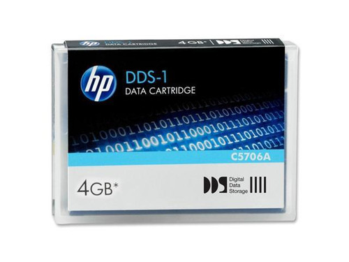 HP 4mm DDS-1 2GB / 4GB 90 Meter Data Tape Cartridge - C5706A