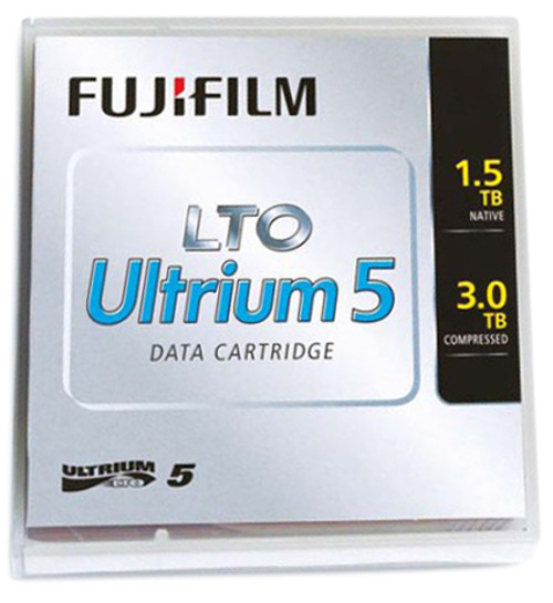 16008030 - Fuji LTO Ultrium 5 Data Cartridge - LTO-5 - 1.50 TB / 3 TB