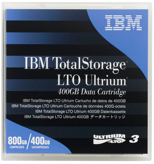 IBM LTO 3 Ultrium 3 400GB/800GB Data Cartridge - 24R1922