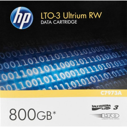 HP LTO 3 Tape Ultrium 3 400GB/800GB Data Cartridge - C7973A