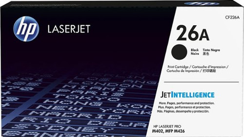 Genuine HP 26A CF226A Black LaserJet Toner