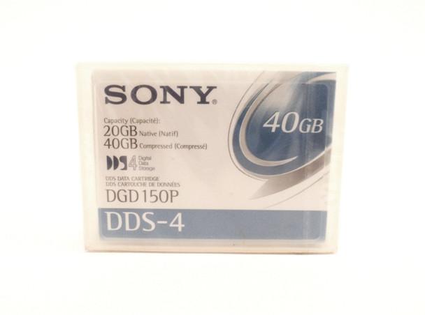 Sony 4mm DDS-4 150M 20GB/40GB Data Tape Cartridge - DGD150P