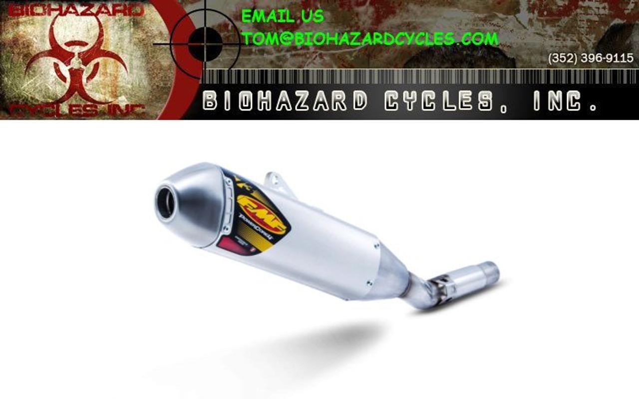 FMF 043011 POWERCORE 4 PC4 SLIP-ON EXHAUST SUZUKI DRZ400 DRZ400S DRZ400SM