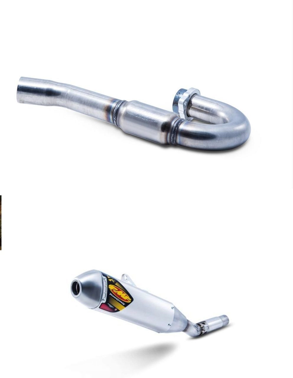 FMF 043011 & 040038 POWERCORE 4 & POWER BOMB FULL EXHAUST SUZUKI DRZ400 & S  / SM