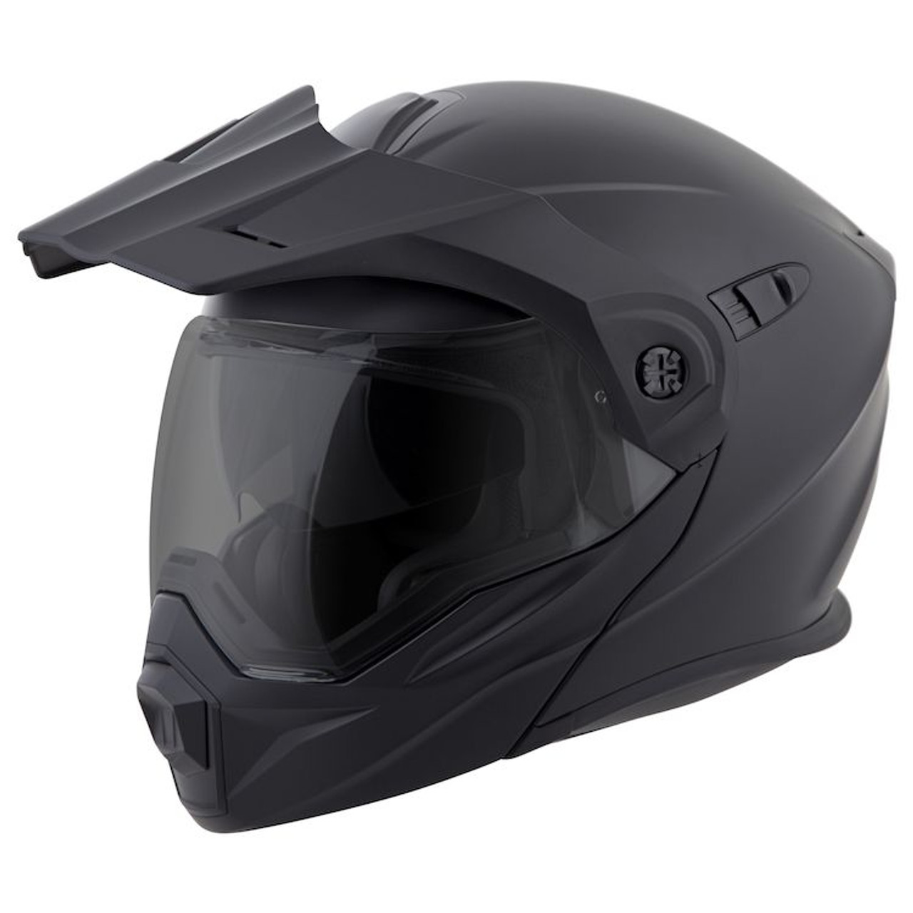 9e39b095 SCORPION EXO-AT950 MATTE BLACK HELMET ALL SIZES 95-0105