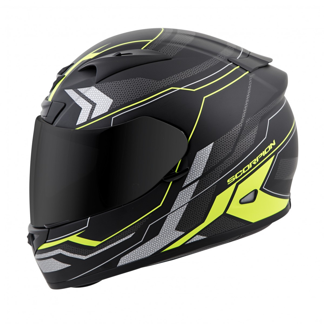 547a3e2a SCORPION EXO-R710 Transect Hi-Viz HELMET ALL SIZES 71-4425