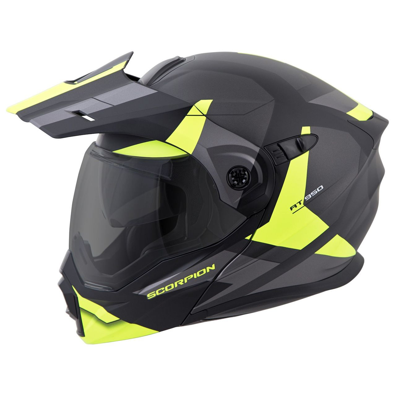 e257d644 SCORPION EXO-AT950 Hi-Viz Yellow Neocon HELMET ALL SIZES 95-1015