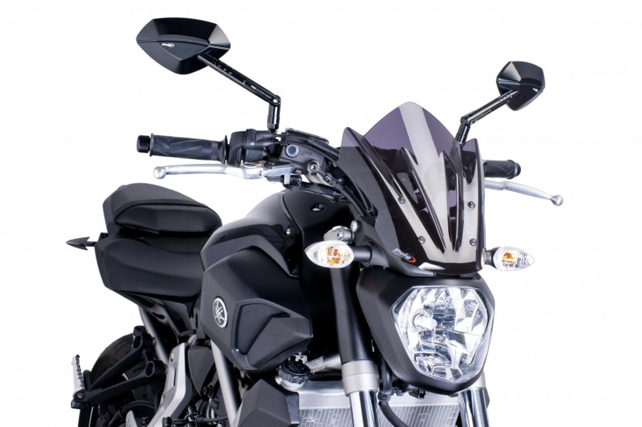 Puig Touring Naked New Generation Windscreen Yamaha MT-07