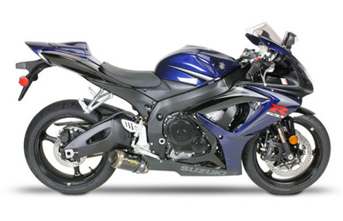 TWO BROTHERS 005-1470107V CF M2 FULL EXHAUST GSXR600 GSXR750 06-07