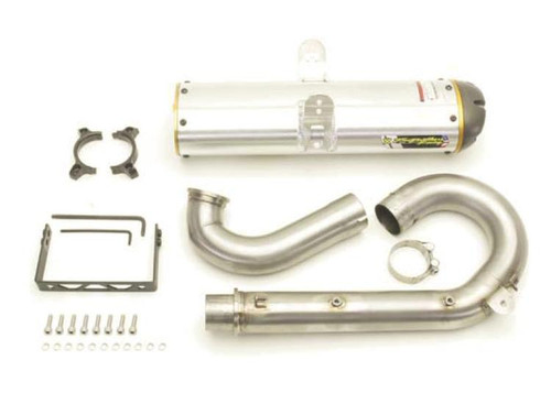 TWO BROTHERS 2 BROS 005-2750406V SLIP ON SO EXHAUST M7 M-7 SINGLE ALUMINUM AL MUFFLER  RZR800 11-14 RZR800S 09-14 RZR800 4 10-14 RZR 800S 800-4 800 S 4 08 09 10 11 12 13 14 2008 2009 2010 2011 2012 2013 2014