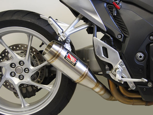 COMPETITION COMP WERKES WH1200-S SLIP ON SO EXHAUST SYSTEM  Hand Crafted 304 Stainless Steel SS MUFFLER  HONDA VFR 1200 VFR1200 VFR 1200F VFR1200FD ABS AND NON ABS MODELS 10 11 12 13 14 15 2011 2012 2013 2014 2015