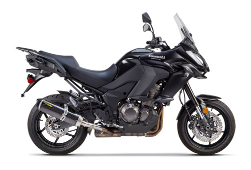 2 BROS TWO BROTHERS RACING   005-4220405-S1 S1R S1-R CARBON FIBER CF SLIP ON EXHAUST  KAWASAKI VERSYS 1000 15 16 2015 2016