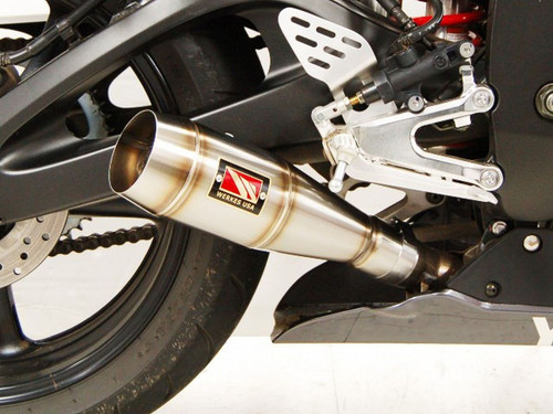 COMPETITION COMP WERKES WY605-S WY605 GP STYLE SLIP ON SO EXHAUST HAND WELDED STAINLESS STEEL SS GP STYLE MUFFLER   YAMAHA YZF-R6s YZFR6s YZF R6s 06-09 yzf-r6 r6 03-05   03 04 05 06 07 08 09 2003 2004 2005 2006 2007 2008 2009