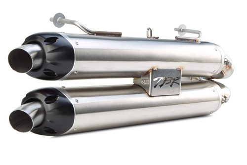 TWO BROTHERS 005-3730409DV RACING EXHAUST DUAL S1R S1-R SLIP ON EXHAUST MUFFLERS  POLARIS RZR1000 RZR 1000 2014 14